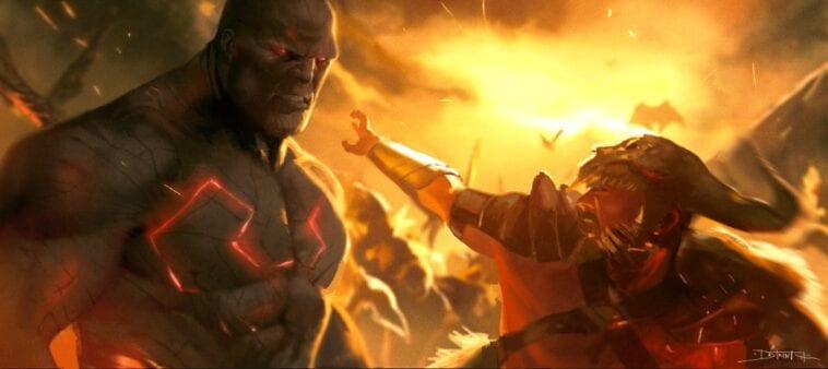 ares vs darkseid