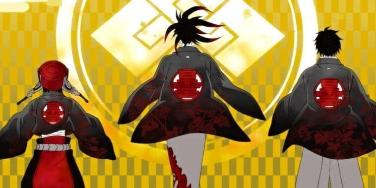 animes de samurai